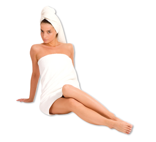 WomaninTowel